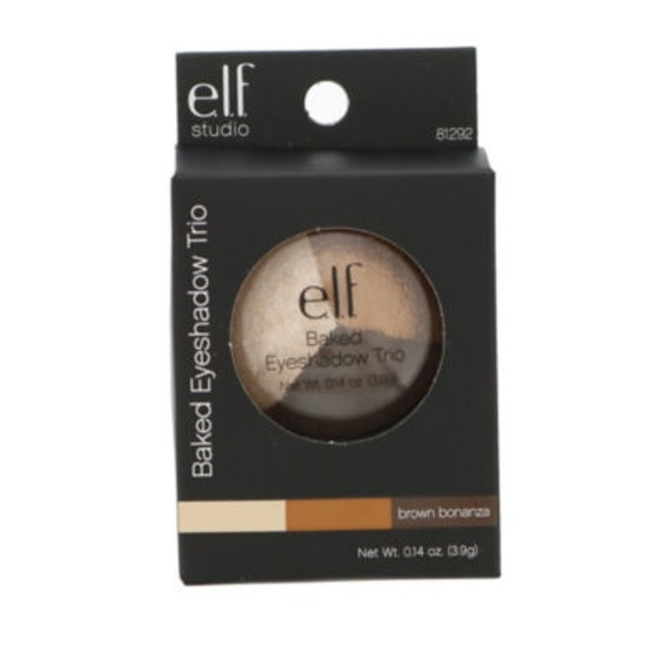 e.l.f. Baked Eyeshadow Trio - Brown Bonanza