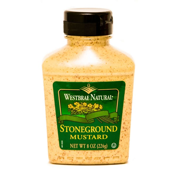 Westbrae Natural Organic Stoneground Mustard