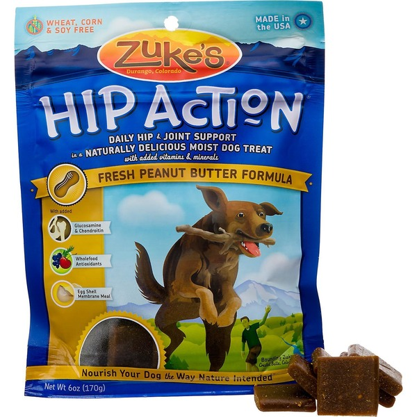 Zuke's Dog Treats, Peanut Butter Formula