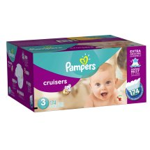 Pampers Cruisers Diapers, Size 3, 28 Diapers