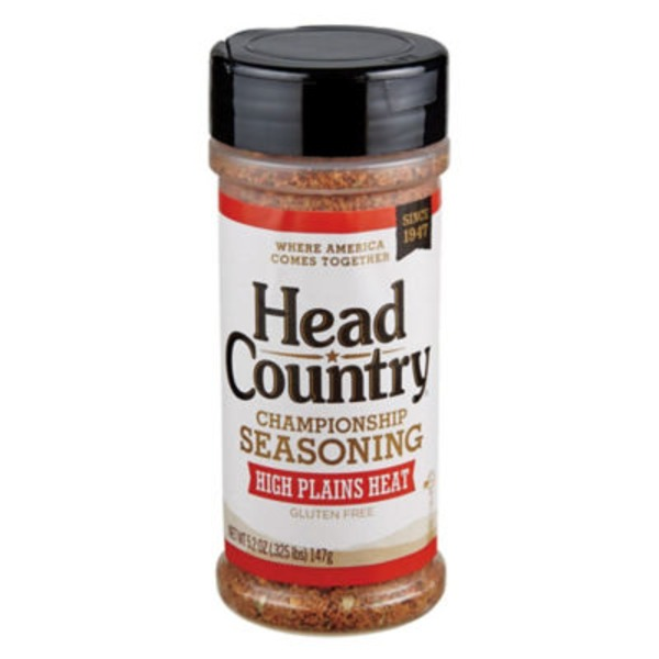 Head Country High Plains Heat Championship Seasoning