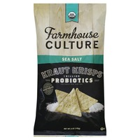 Farmhouse Culture Kraut Krisps, Sea Salt