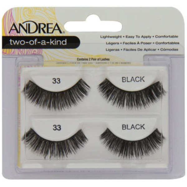 Andrea Two Of A Kind Lashes, Black 33