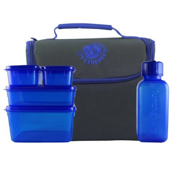 New Wave Litter Free Lunch Box Solid Color