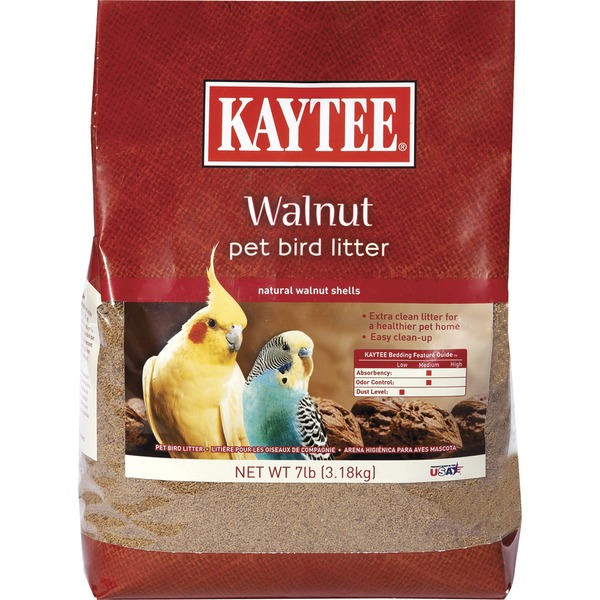 Kaytee Walnut Bird Litter 7 Lbs.