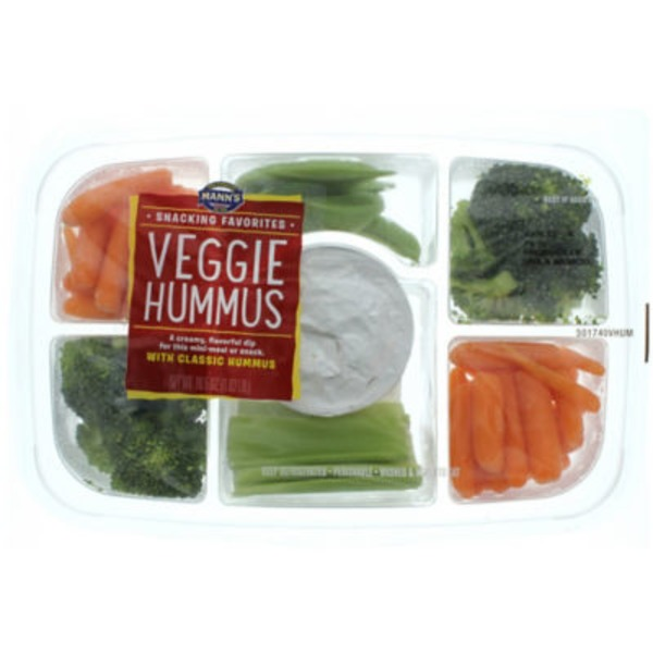 Mann's Snacking Favorites Veggie Hummus Tray