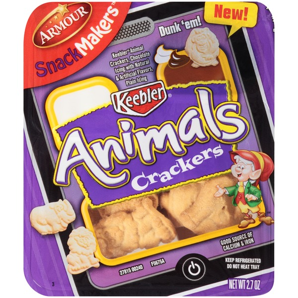 Armour Snack Makers Animal Crackers Snack Kit