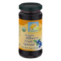 Bionature Organic Bilberry Fruit Spread