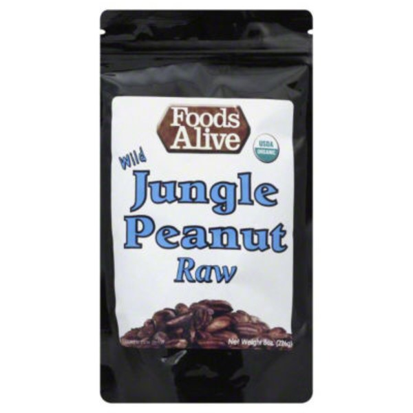 Foods Alive Raw Wild  Jungle Peanuts