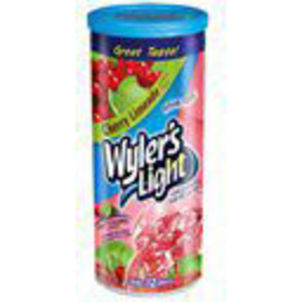 Wyler's Light Cherry Limeade Soft Drink Mix