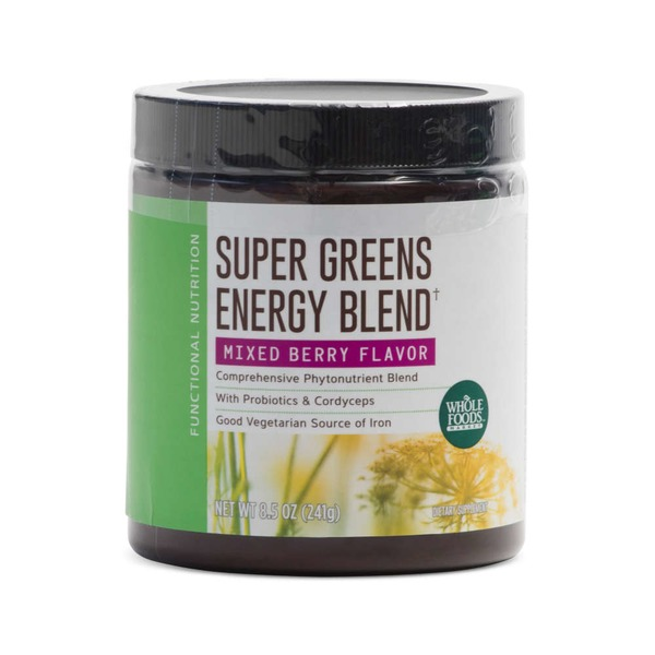 Whole Foods Market Super Greens And Probiotics