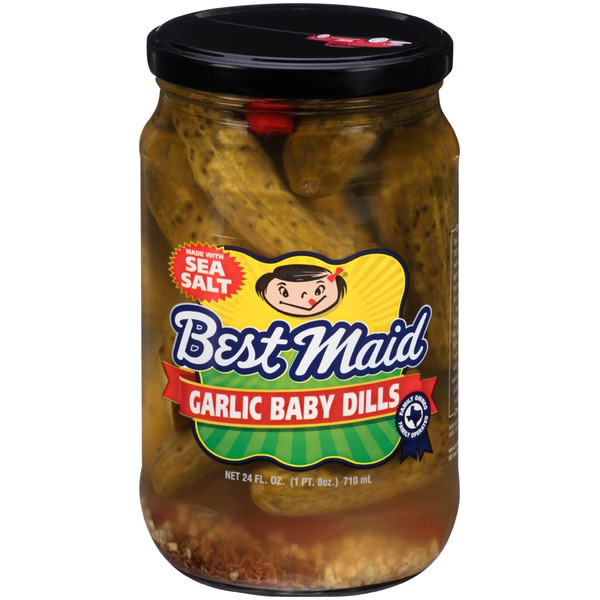 Best Maid Garlic Baby Dills Pickles