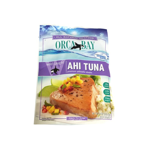 Orca Bay Ahi Tuna Steaks