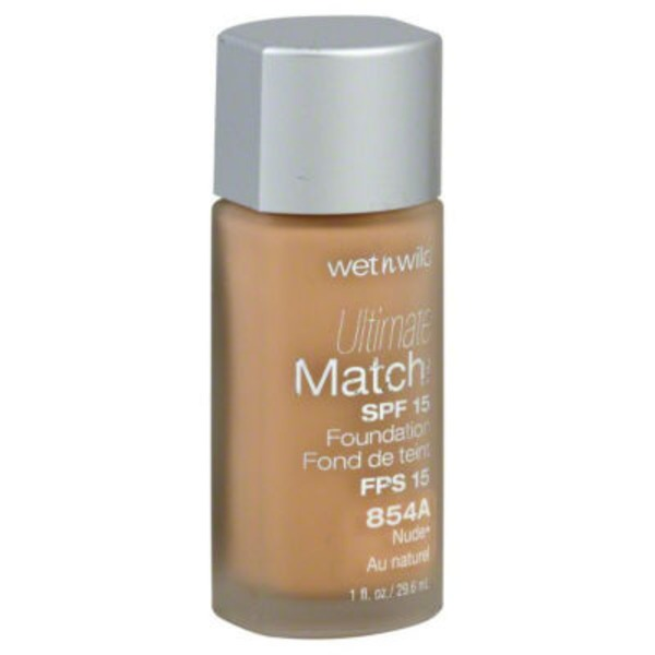 Wet n' Wild Foundation, Liquid, Nude 854A