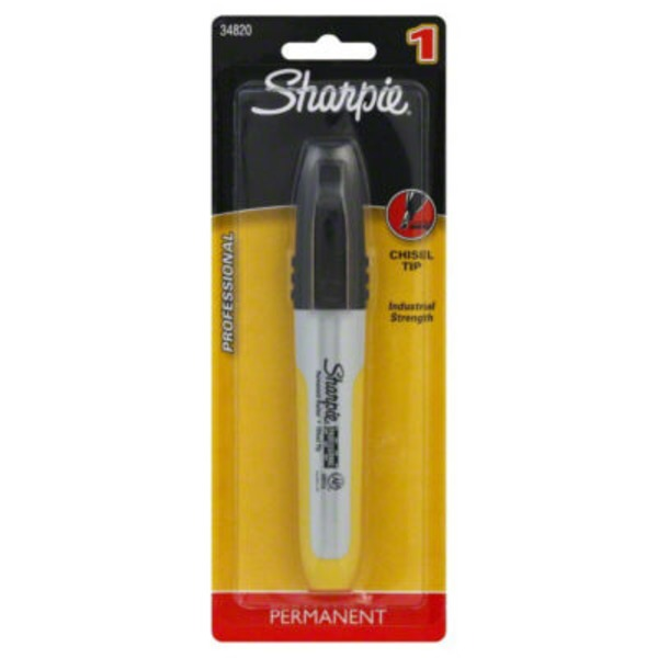 Sharpie Professional Black Permanent Marker