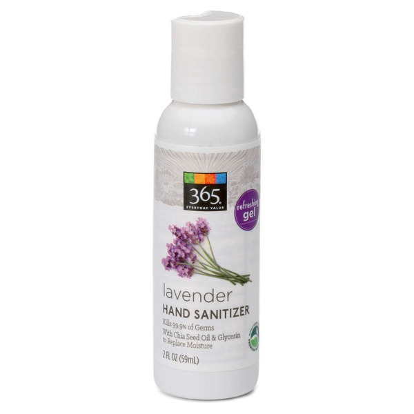 365 Lavender Hand Sanitizer Gel From Whole Foods In San Antonio