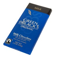 Green & Black's King Bars Milk with 34% Cacao Content Organic Chocolate
