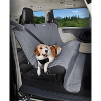 Good2 Go No-Fur Zone Bench Seat Cover Gray