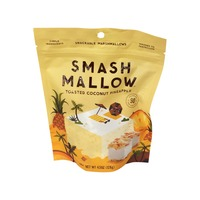 Smash Mallow Marshmallow, Snackable, Toasted Coconut Pineapple