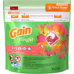 Gain flings! Tropical Sunrise Laundry Detergent Pacs