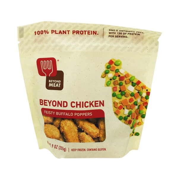 Beyond Meat Feisty Buffalo Poppers