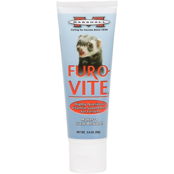 Marshall Pet Products Furo Vite Highly Nutritious Ferret Vitamin Supplement