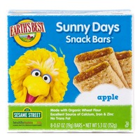 Earth's Best Organic Sunny Days Snack Bars, Apple