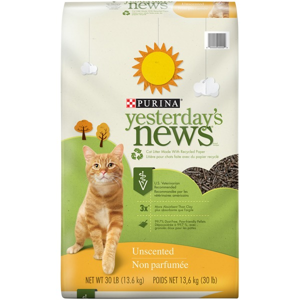 Purina Yesterday's News Unscented Original Texture Cat Litter