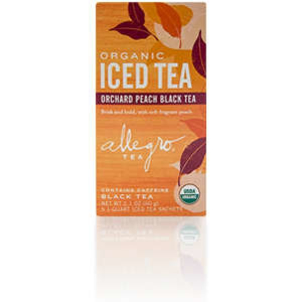 Allegro Organic Orchard Peach Black Tea