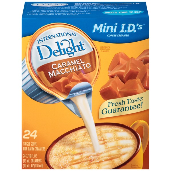 International Delight Mini I.D.'s Caramel Macchiato Non-Dairy Coffee Creamer