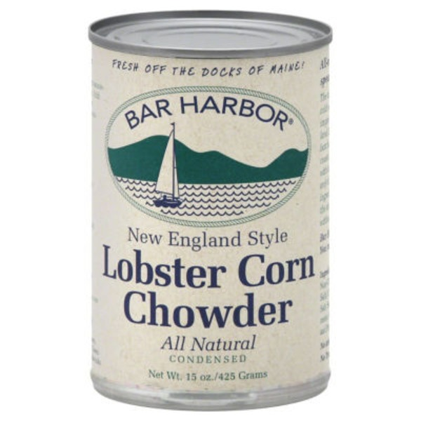 Bar Harbor Lobster Corn Chowder New England Style