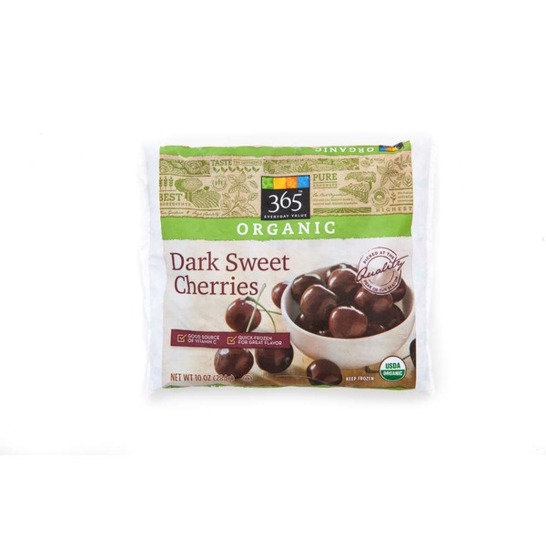 365 Organic Dark Sweet Cherries