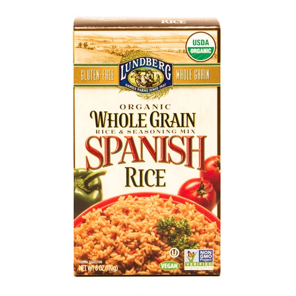 Lundberg Family Farms Organic Whole Grain Spanish Rice