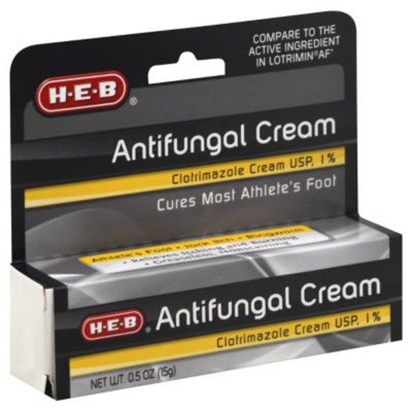 H-E-B Antifungal Foot Cream