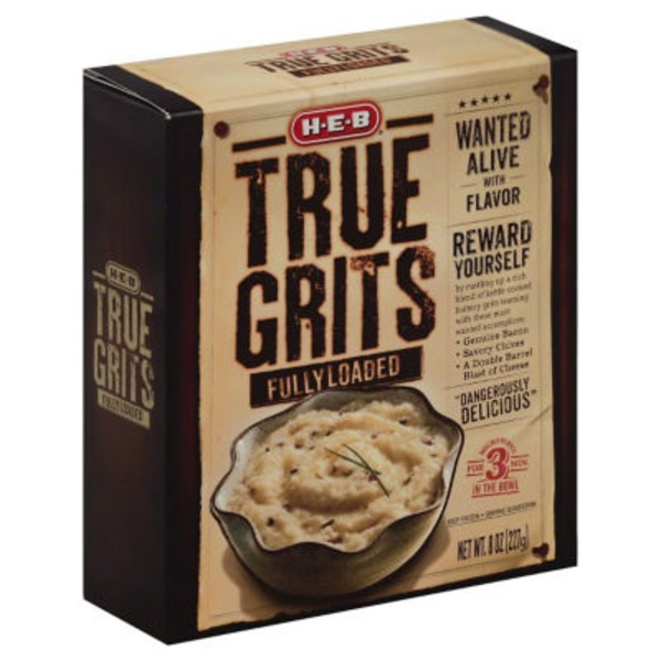 H-E-B Fully Loaded True Grits