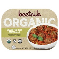 Beetnik Grass Fed Beef Meatballs, Organic