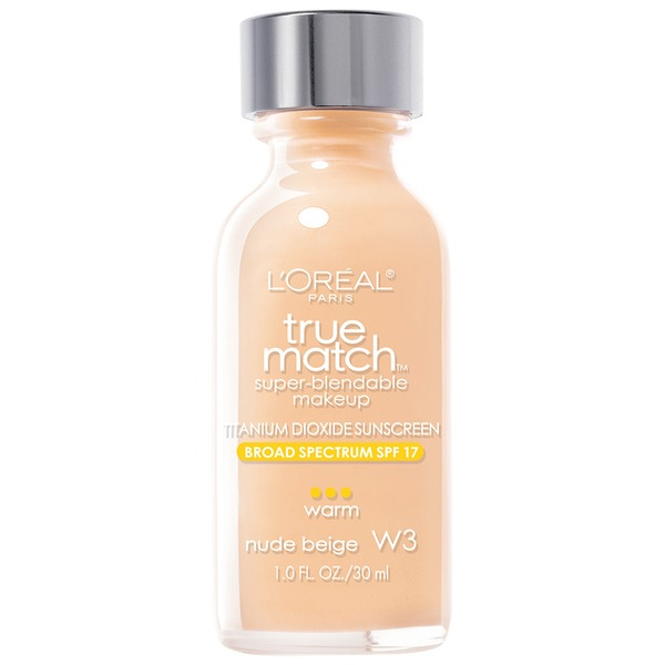 True Match Warm Nude Beige W3 Super-Blendable Makeup