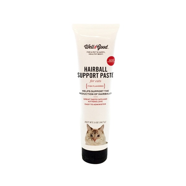 Well & Good Hairball Support Paste for Cats