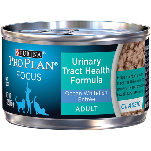 Pro Plan Cat Wet Focus Adult Urinary Tract Health Formula Ocean Whitefish Entree Cat Food