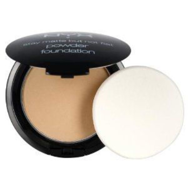 Nyx Medium Beige Stay Matte But Not Flat Powder Foundation