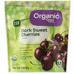 Great Value Organic Dark Sweet Frozen Cherries