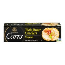 Carr's Table Water Crackers, Original, 4.25 Oz