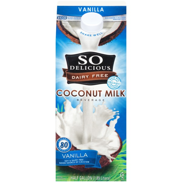 So Delicious Dairy Free Vanilla Coconut Milk