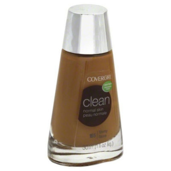 CoverGirl Clean COVERGIRL Clean Makeup Foundation, Tawny 1 fl oz (30 ml) Female Cosmetics