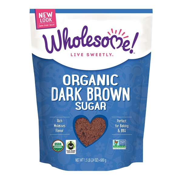 Wholesome! Organic Dark Brown Sugar