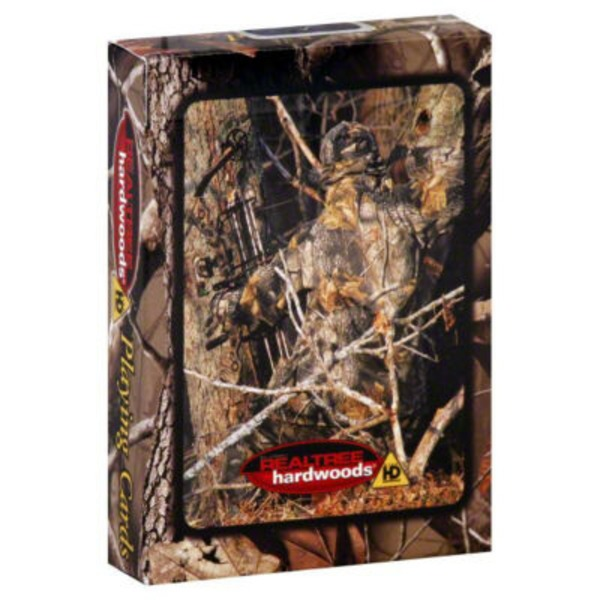 RealTree Playing Cards Hardwoods
