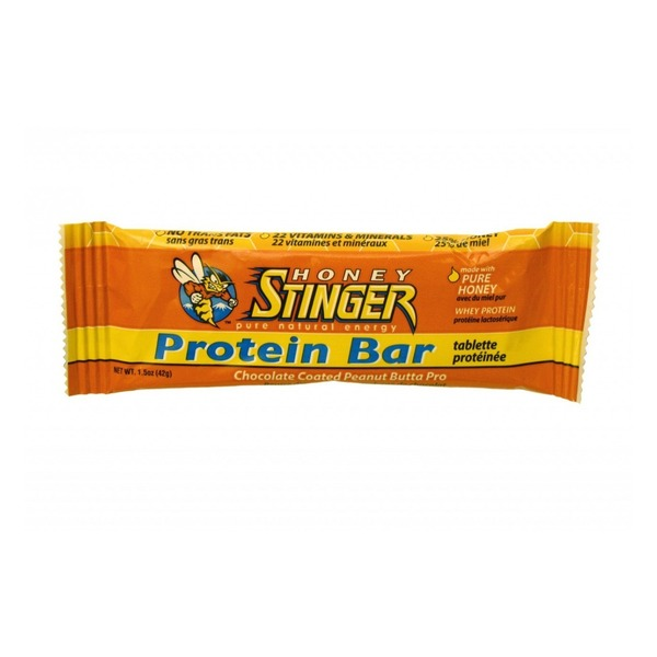 Honey Stinger Half Size Peanut Butta Protein Bar Case