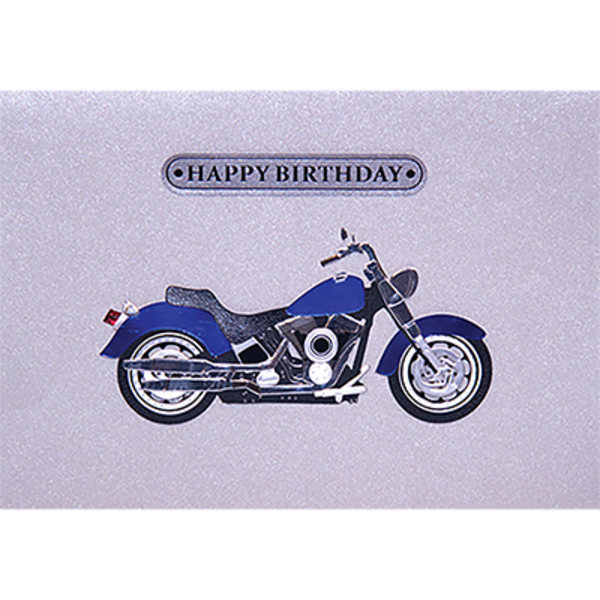 Papyrus Birthday Card - Motorcycle Guy