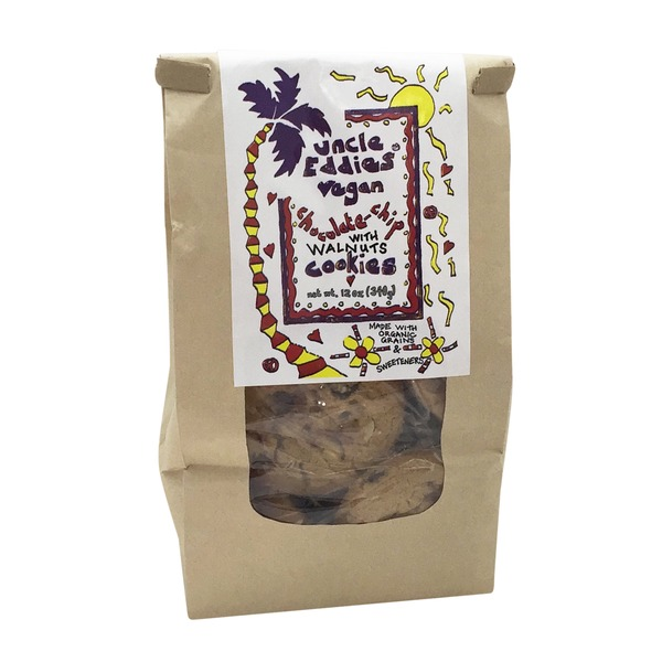 Uncle Eddies Vegan Chocolate Chip With Walnuts Cookies