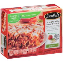 STOUFFER'S Classics Lasagna with Meat & Sauce 10.5 oz Box